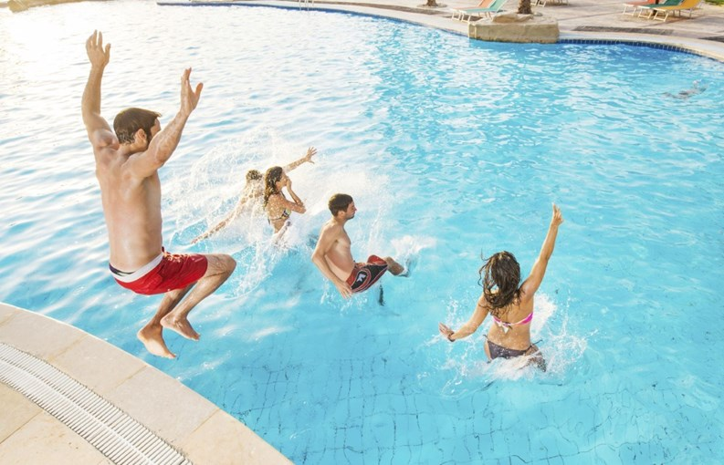 Maintaining a safe community pool liquid assets the for Florida pool show 2015